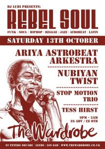 Soul Rebels 1st flyer