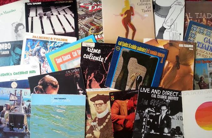 Some of my Cal Tjader LPs